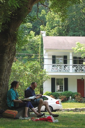 Springtime En Plein Air in Dickeyville
